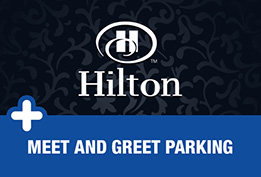 Gatwick Hilton Hotel with VIP Parking icon