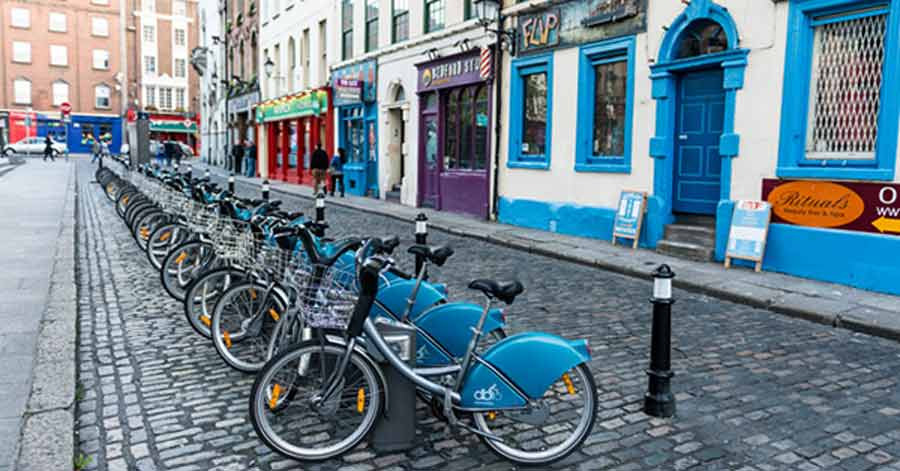 Cycle in Dublin