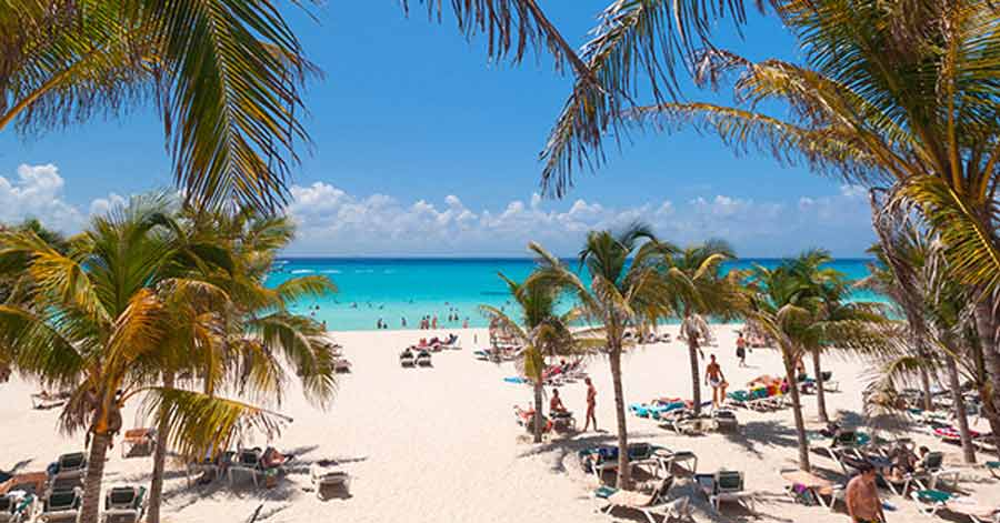 Playa Del Carmen beach resort