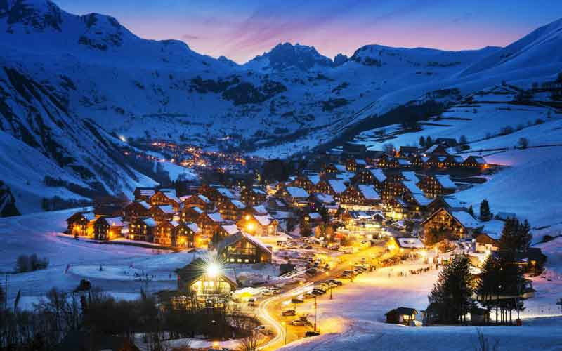 Sainte Foy, French Alps