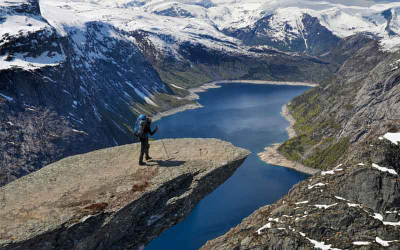 Norway backpacking